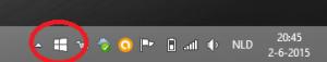 windows 10 taakbalk